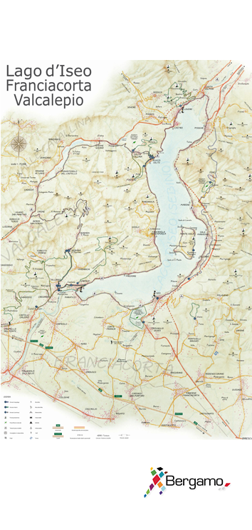 ISEO LAKE_MAP