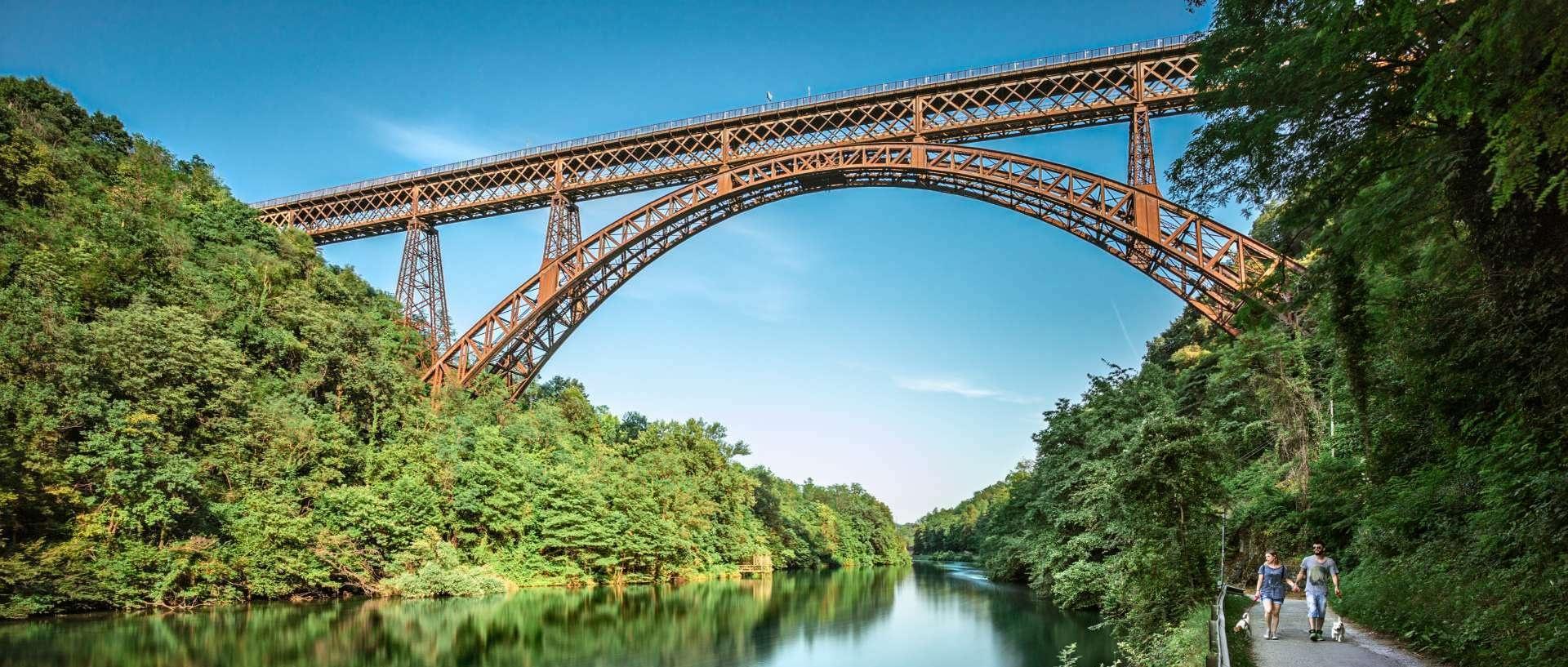 Ponte san michele o di paderno for Piani di fondazione del ponte