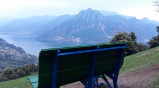 Giant Bench in Riva di Solto