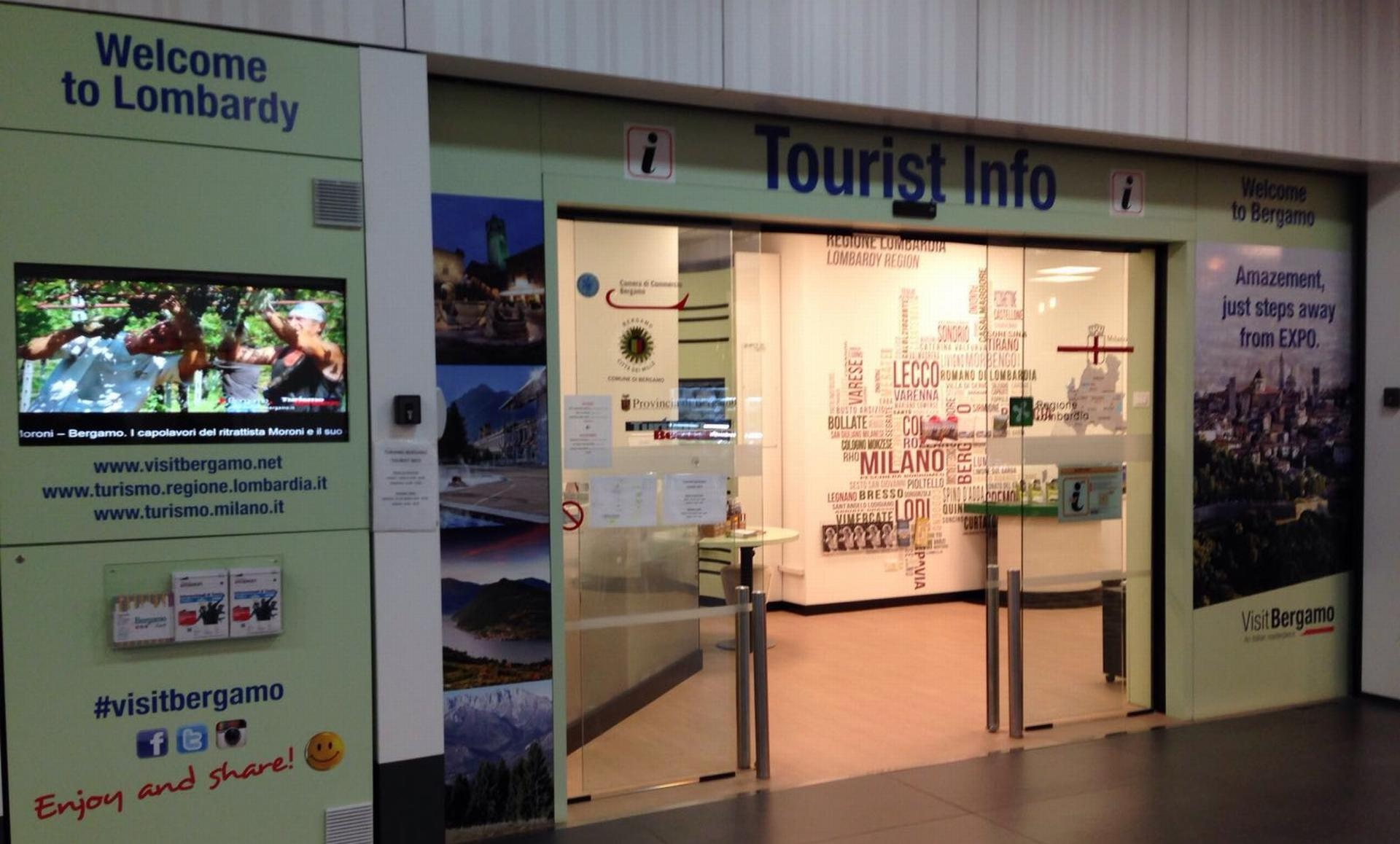 Aeroporto Orio : Brochure comunicazione istituzionale vitali aeroporto orio al