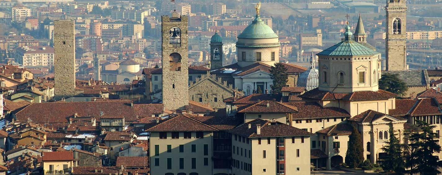 Guided tours of Bergamo