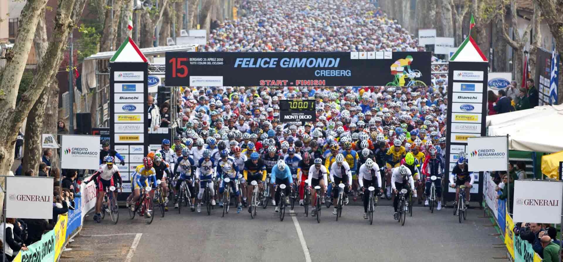 Cicle Race - Granfondo internazionale Felice Gimondi Bianchi