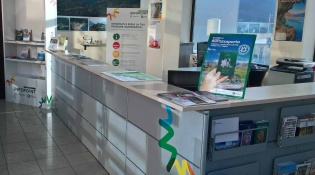 Info point Upper Lake Iseo