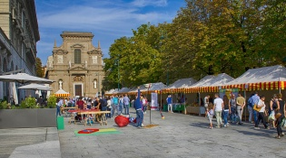 Bergamo's Earth Market
