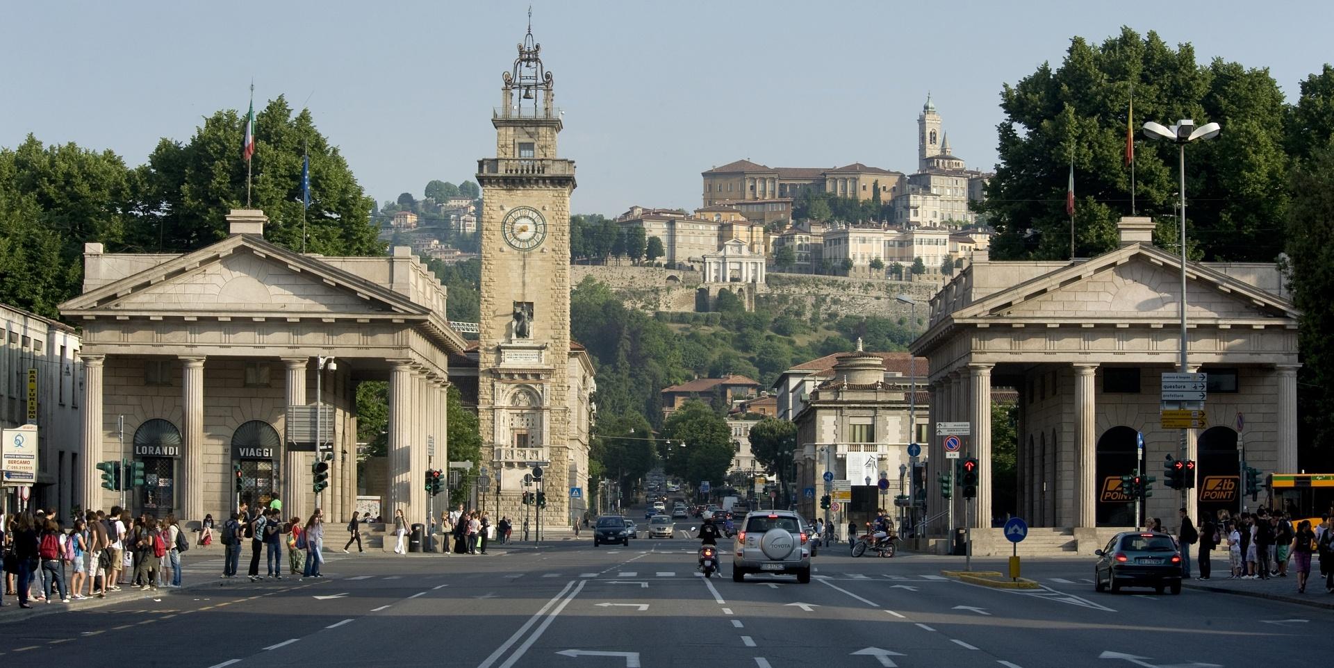 Porta Nuova Visit Bergamo