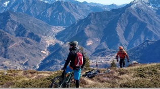 MTB ON BERGAMO'S OROBIC PREALPS - 4 NIGHTS