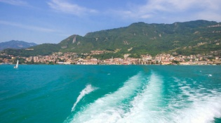 Boating on Lake Iseo