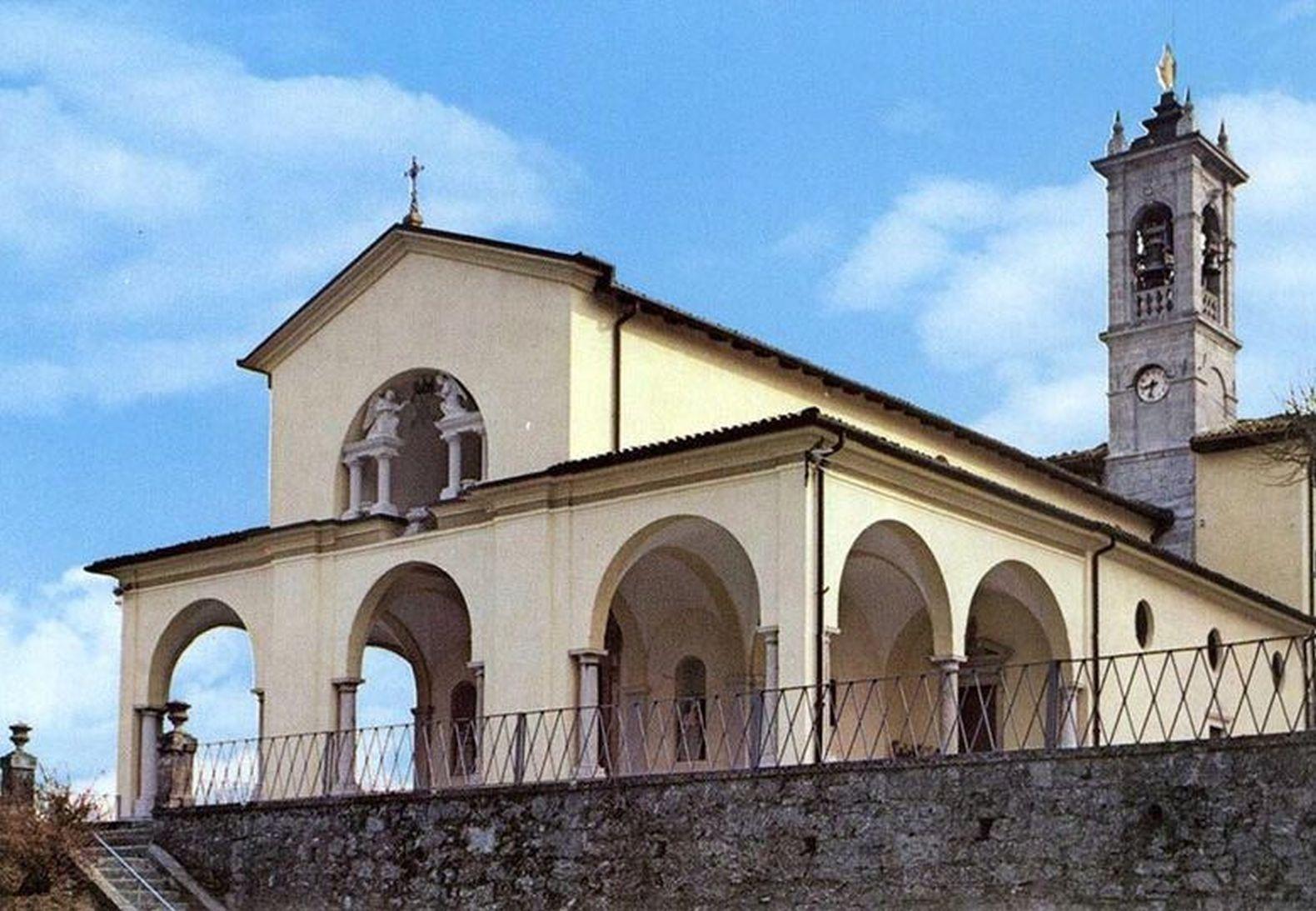 Sanctuary Of Our Lady Of Altino Visit Bergamo