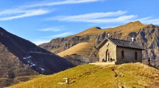 CHURCH OF MADONNA PELLEGRINA – MANINA PASS