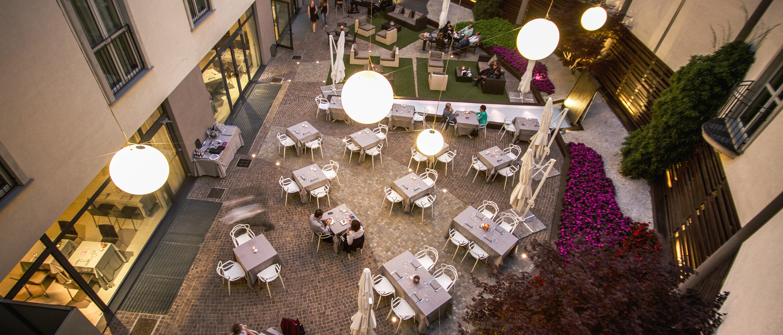 Winter Garden Hotel • • Visit Bergamo